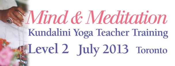 Mind and meditation level 2 2014